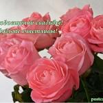 открытка с годовщиной свадьбы, розы, открытка